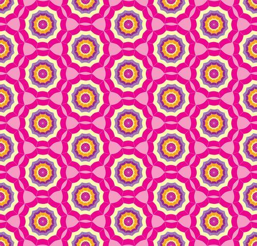 Fondo rosado inconsútil del modelo con el paraguas estilizado