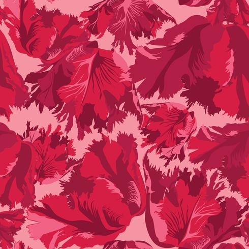 Abstract flower petal seamless pattern. Textured background vector