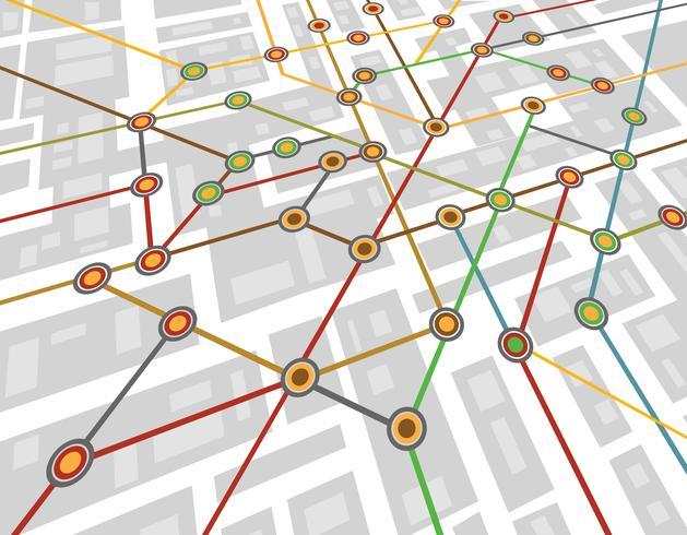 mapa do metrô