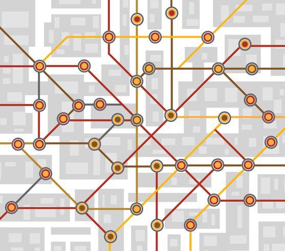 tunnelbana karta
