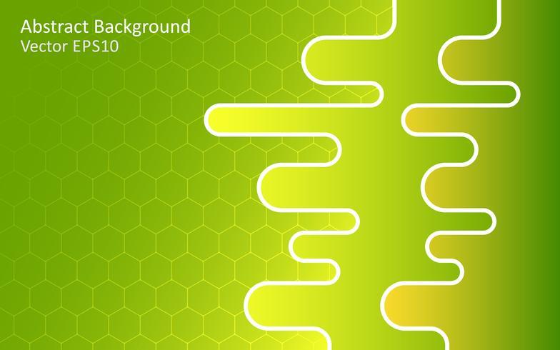 Fondo de vector abstracto verde