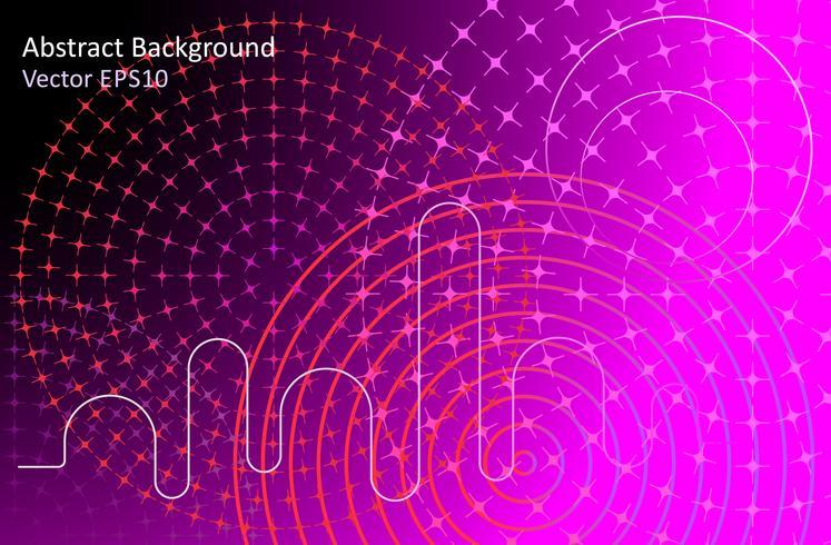 Fondo de vector abstracto negro y rosa
