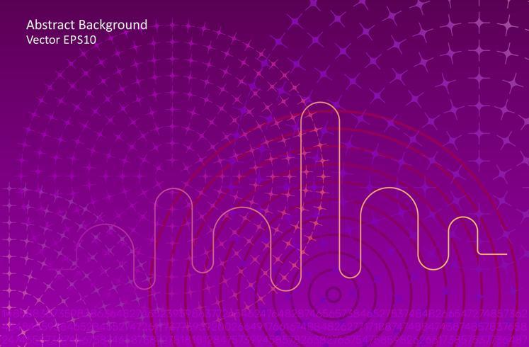 Dark purple abstract vector background