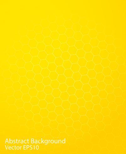 Fond de vecteur abstrait jaune vif