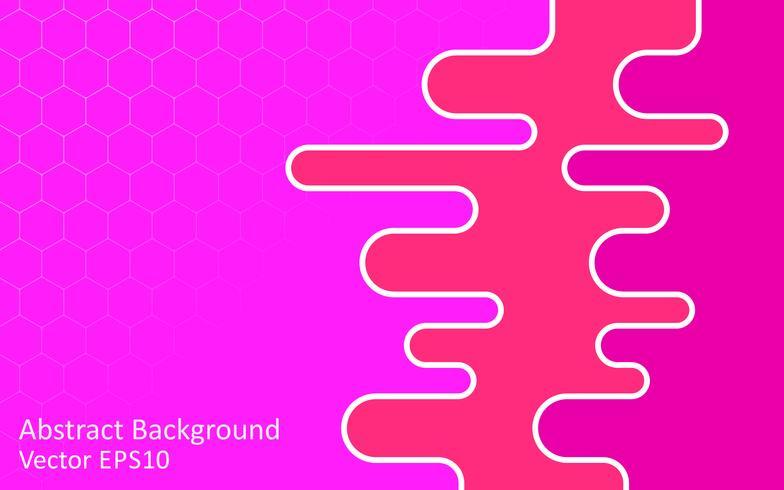Fondo de vector abstracto tonos rosa