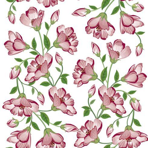 Floral fundo sem emenda. Fundo de buquê de flores