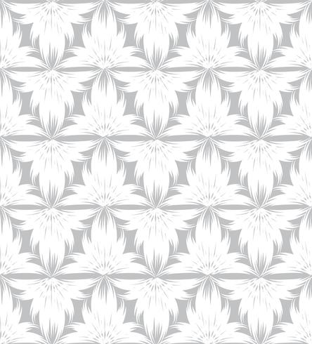 Abstract naadloos patroon Bloemen oosters geometrisch lijnornament
