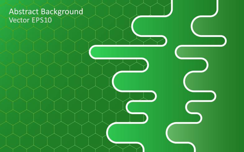 Fondo de vector abstracto verde esmeralda