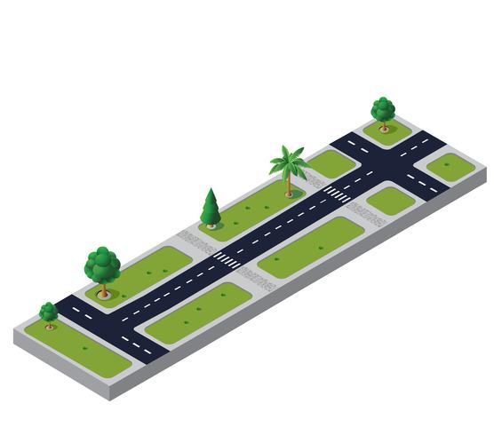 Carretera vector