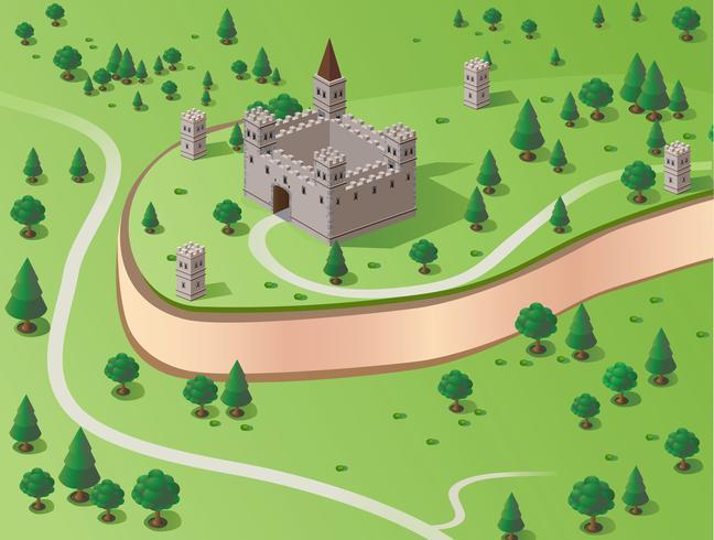 Castillo de vector