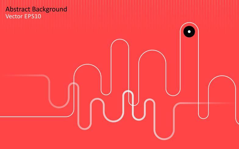 Fond de vecteur abstrait rouge