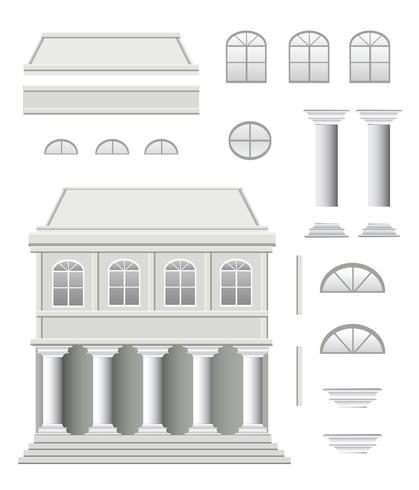 Antikes Haus