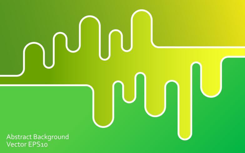 Grön abstrakt vektor bakgrund