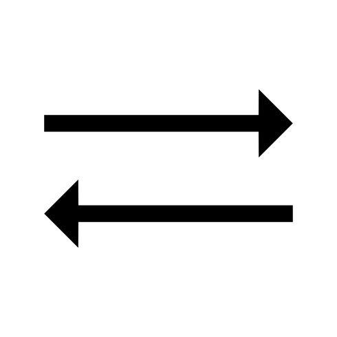 synkroniser glyph black icon