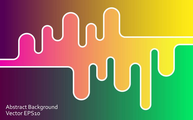 Gradient abstract vector background