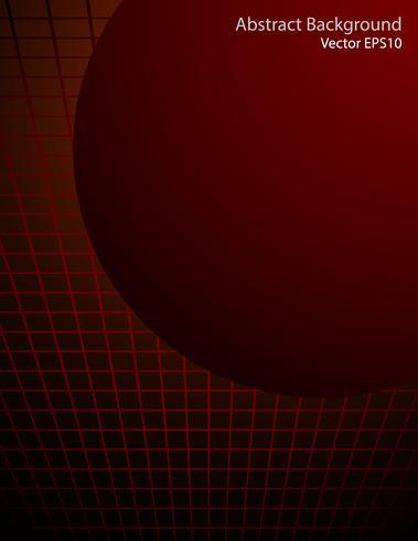 Priorità bassa di vettore di sfera rosso scuro