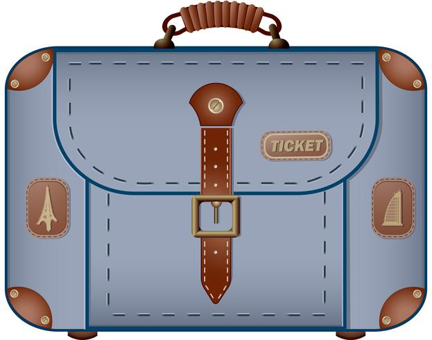 Travel Bag for travel and business trips  vector