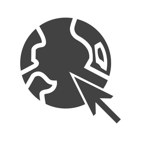 Browser Glyph Black Icon