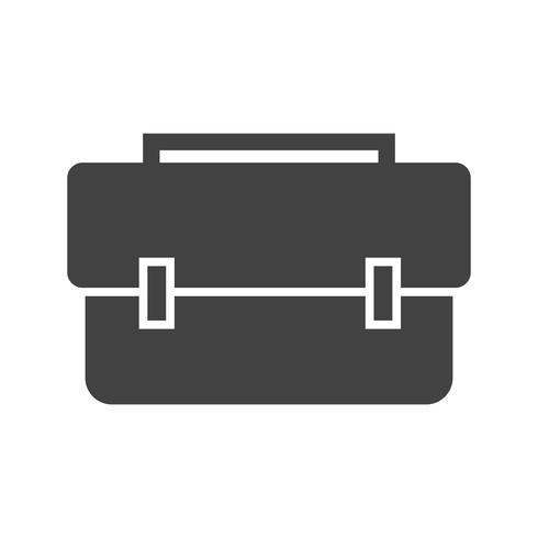 breifcase glyph black icon