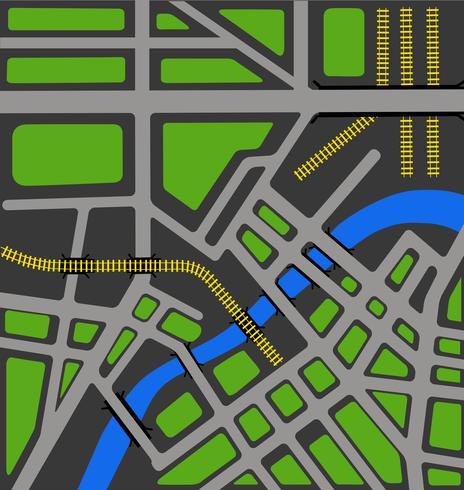 Mapa vectorial de la ciudad