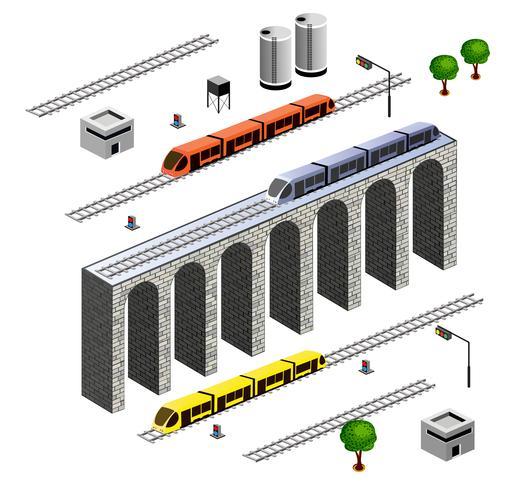 Ferrovia isometrica