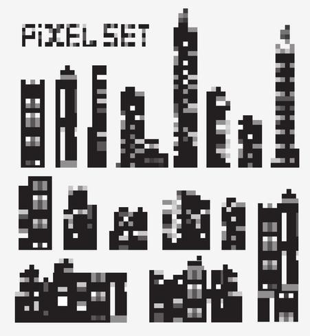Pixel Gebäude