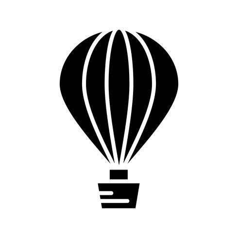 Luftballon Glyph Black Icon