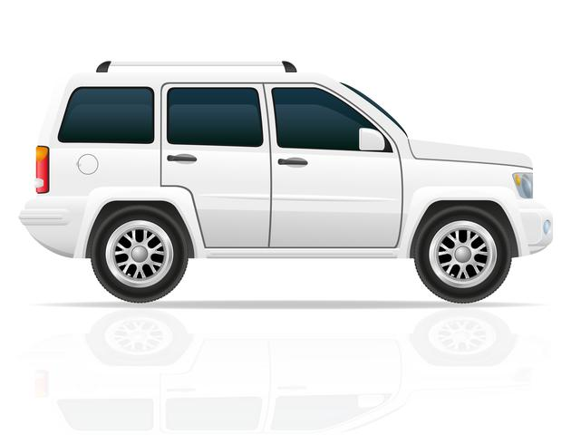 voiture jeep hors route illustration vectorielle de suv