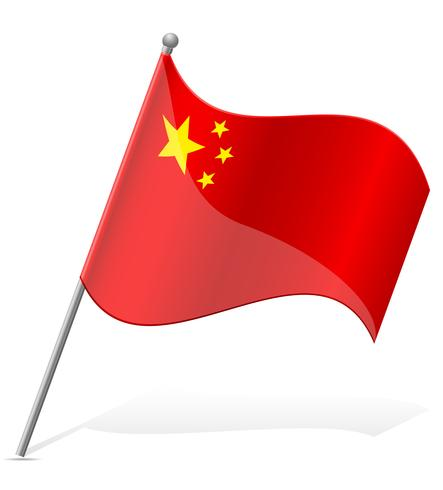 flag of China vector illustration