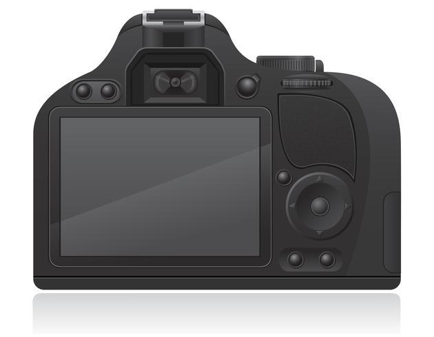 ilustração de vetor de câmera de foto