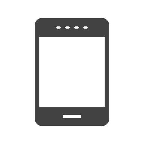 Phone Glyph Black Icon