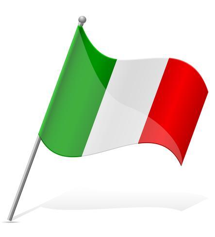 vlag van Mexico vectorillustratie