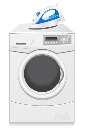 icons are a washing-machine and iron