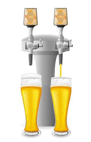 bier uitrusting vectorillustratie