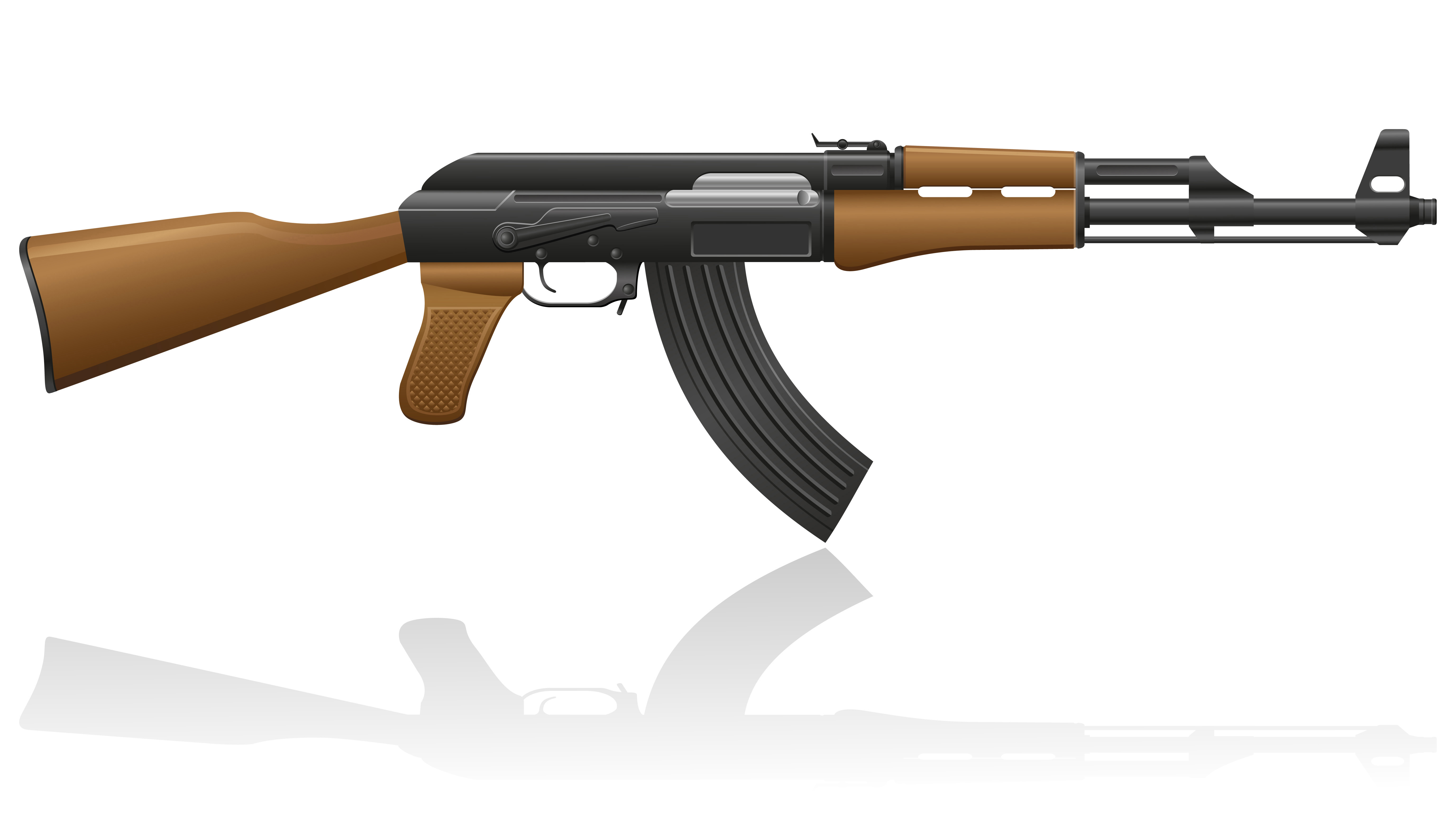 This is a photo of Dynamite Drawing Of Ak 47