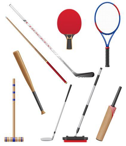 bits e furar a ilustração vetorial de esportes vetor
