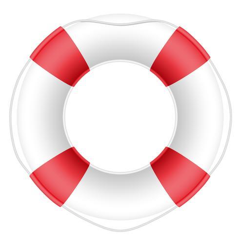 illustrazione vettoriale di salvagente