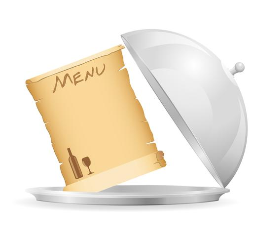 pictogram embleem voor restaurant vectorillustratie
