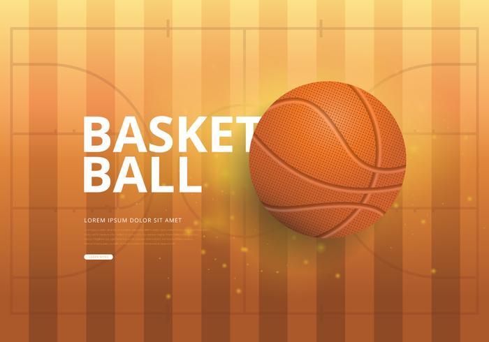 Basket Realistisk Illustration