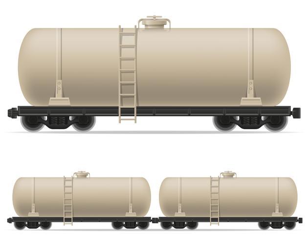 illustration vectorielle de chemin de fer train