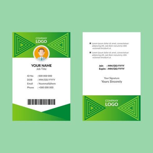 Groene ID-kaart