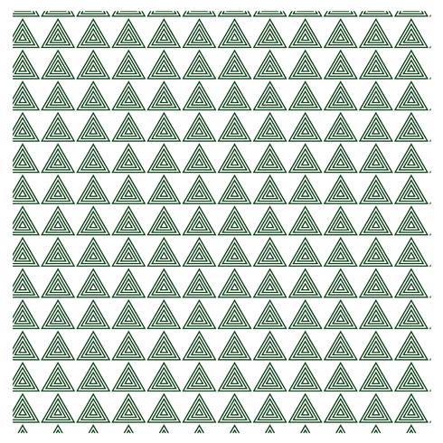 Diseño de patrón de triángulo