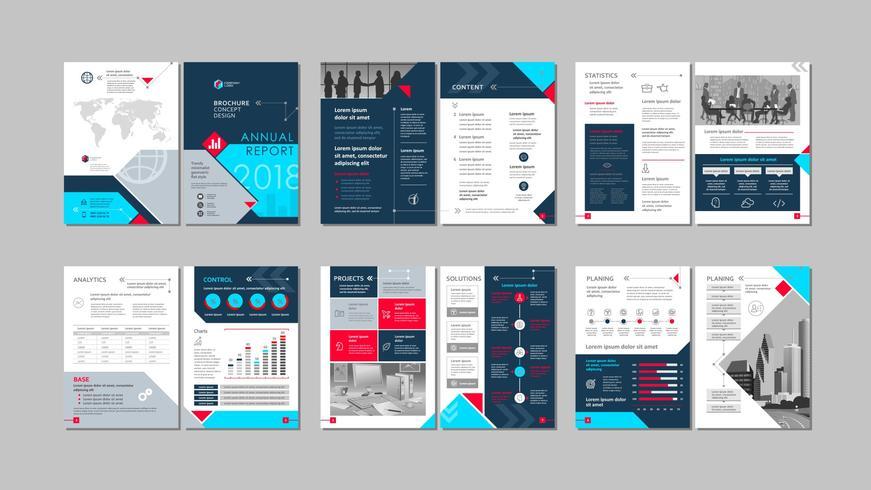 Brochure creative design.
