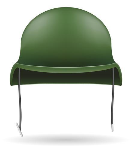 militaire helmen vector illustratie