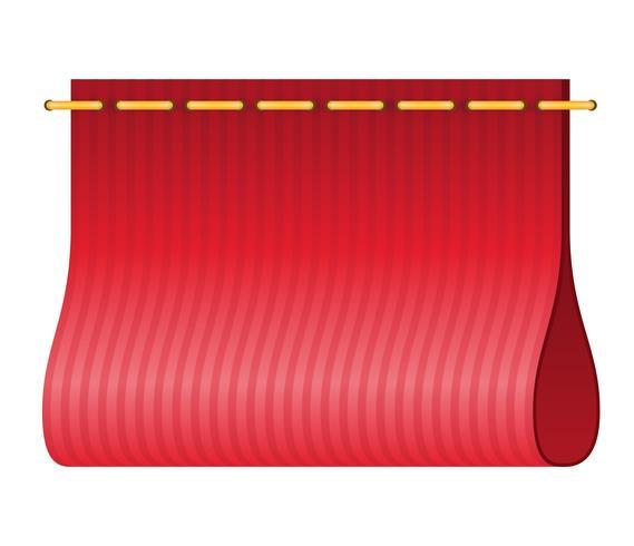 étiquette rouge pour illustration vectorielle vêtements