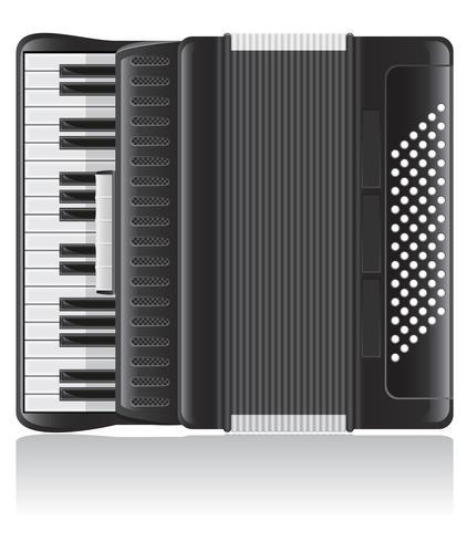 accordeon vectorillustratie