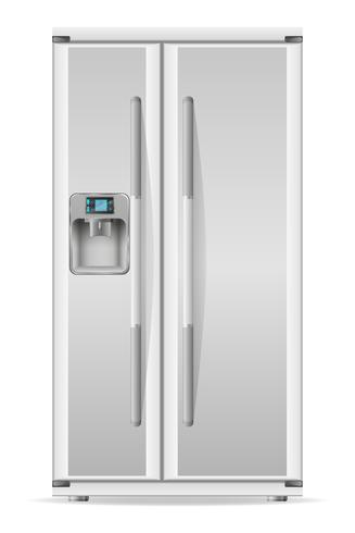 Refrigerador para uso en casa ilustración vectorial