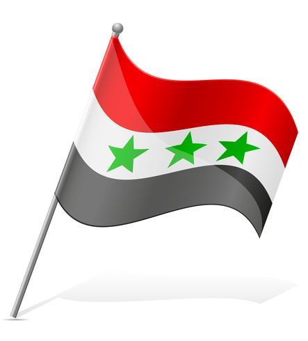 Bandeira da ilustração vetorial de Iraque