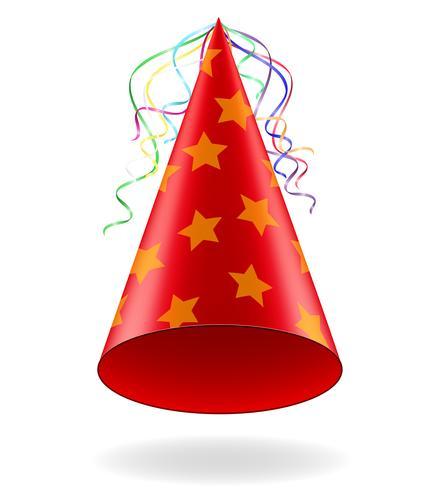 tappo per illustrazione vettoriale celebrazioni di compleanno