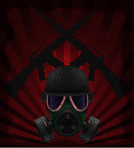 illustration vectorielle de guerre concept